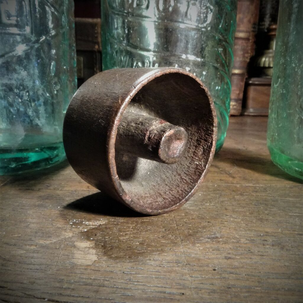 An antique Codds Wallop or Codd Bottle opener